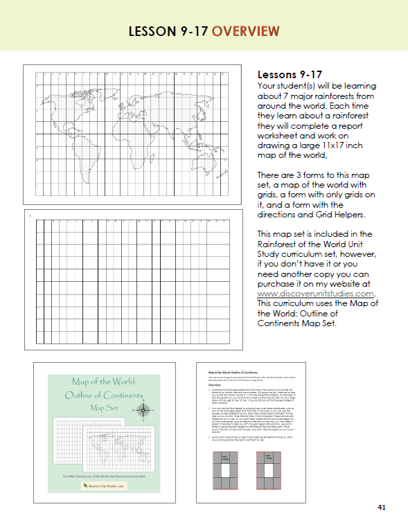 World geography lesson plan ebook array rainforests of the world unit study curriculum rh discoverunitstudies com fandeluxe Gallery